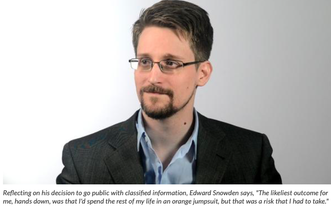 Snowden and the felt sense